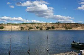 Flyfishing at River Ebro